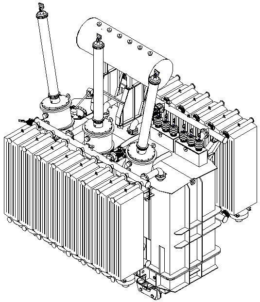 Oil-immersed power transformers, voltage class 220 kV