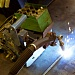 Preparatory-welding production